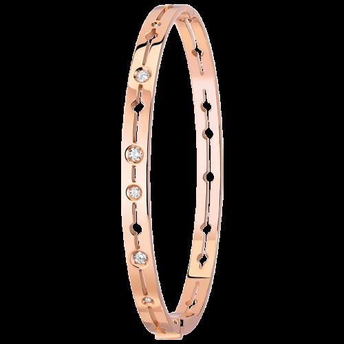 Bracelet Pulse dinh van or rose et diamants