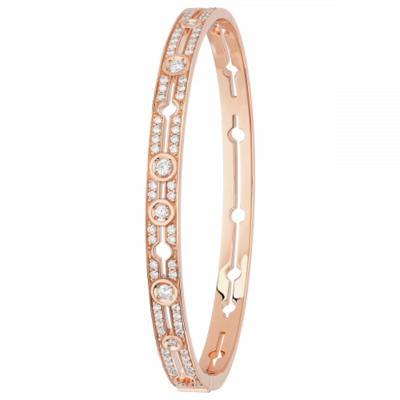 Bracelet Pulse dinh van or rose et diamants