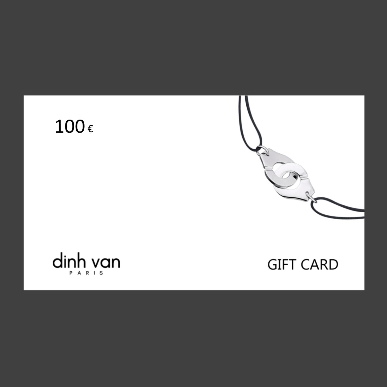 GIFT CARD - 100 euros