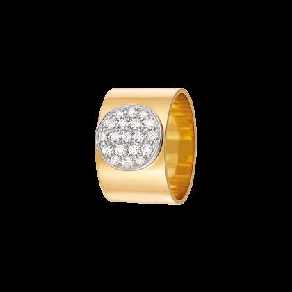 Bague Anthéa or jaune et diamants