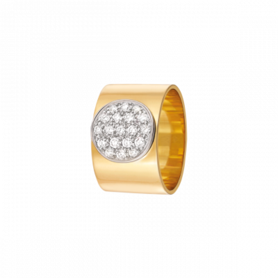 Bague Anthéa or jaune et diamants