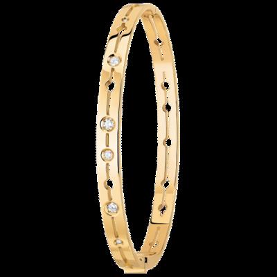 Bracelet Pulse dinh van or jaune et diamants