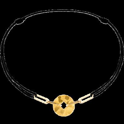 Bracelet sur cordon Pi Square