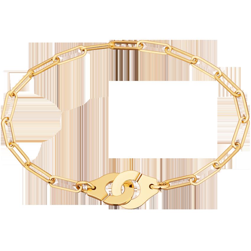 Bracelet Menottes dinh van R10 or jaune