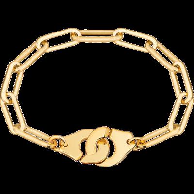 Bracelet Menottes dinh van R15 or jaune