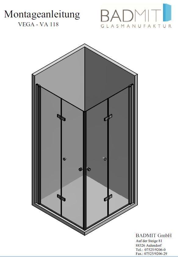 Montageanleitung VEGA - VA 118