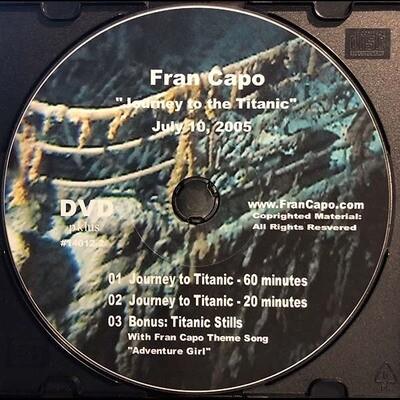 Fran's Titanic DVD