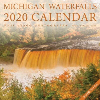 Michigan Waterfalls 2020 Calendar