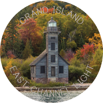 Grand Island Light Magnet