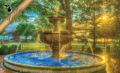 Cadillac Fountain Magnet
