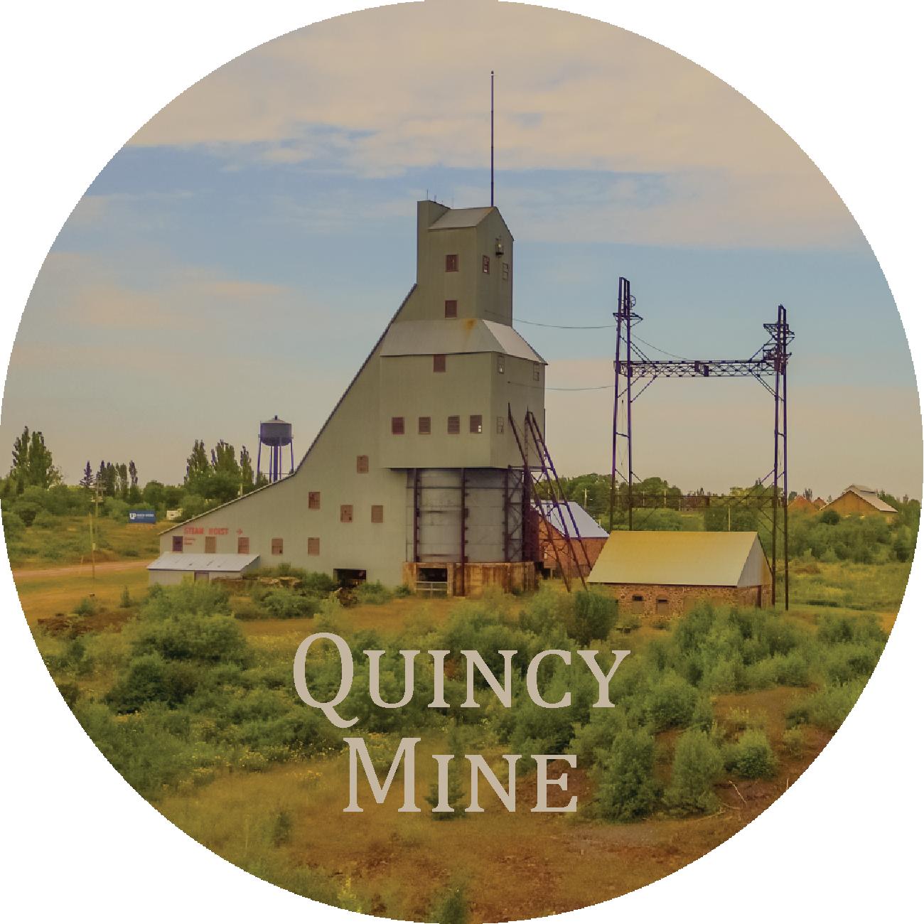 Quincy Mine Magnet