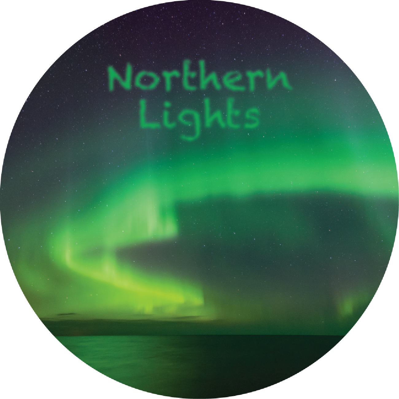Northern Lights Magnet
