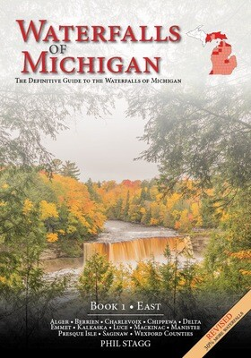 Waterfalls of Michigan (Book 1 - East) REVISED