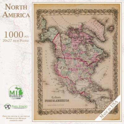 NORTH AMERICA - 1,000 PIECE
