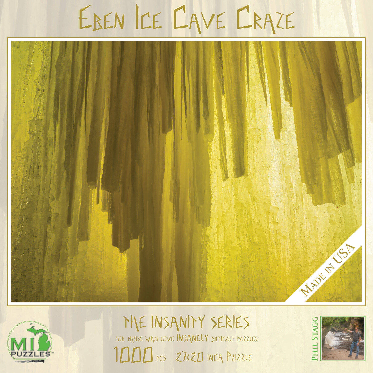 EBEN ICE CAVES CRAZE - 1,000 PIECE