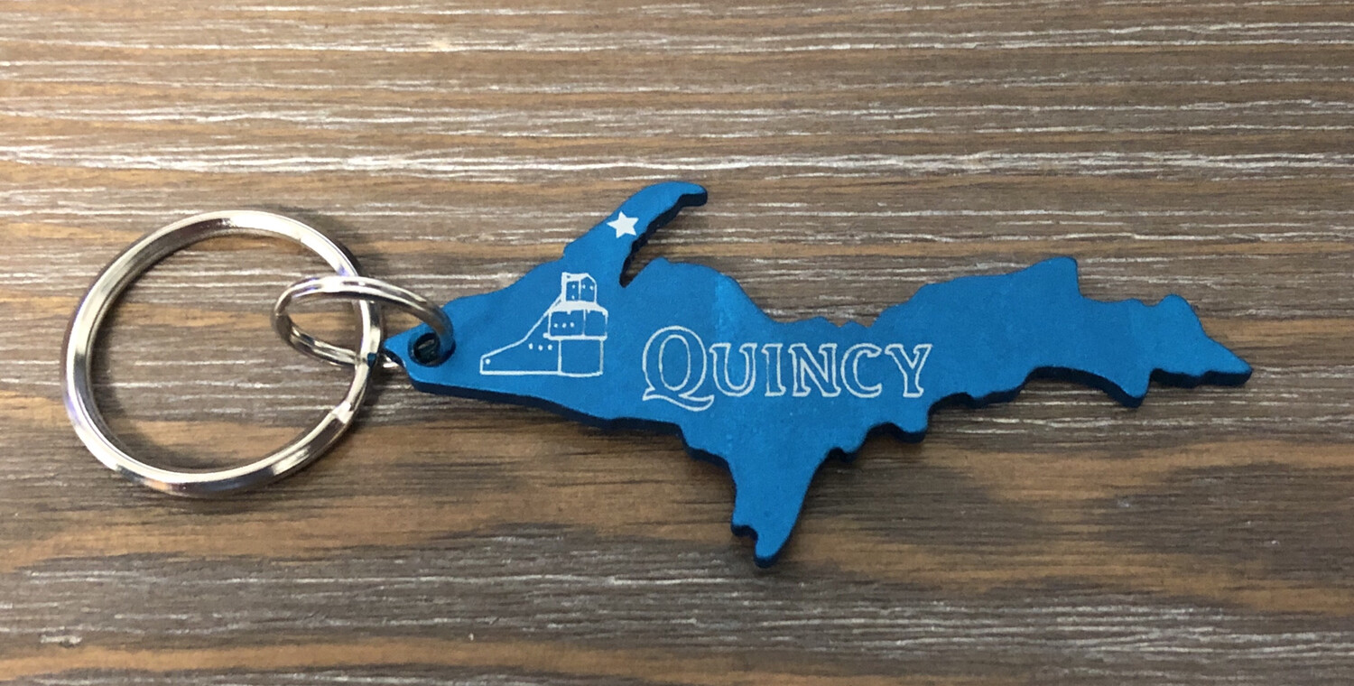 Quincy Mine Key Chain