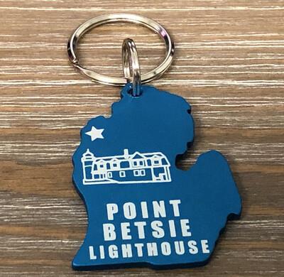 Point Betsie LH Key Chain