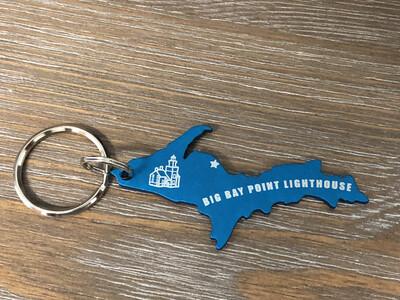 Big Bay Point Lighthouse Key Chain