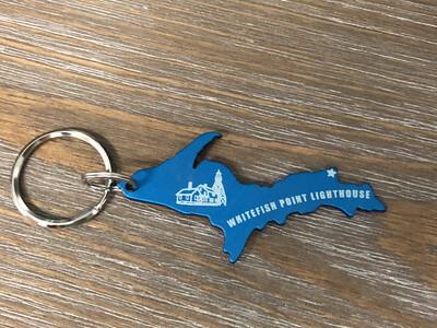 Whitefish Point LH Key Chain