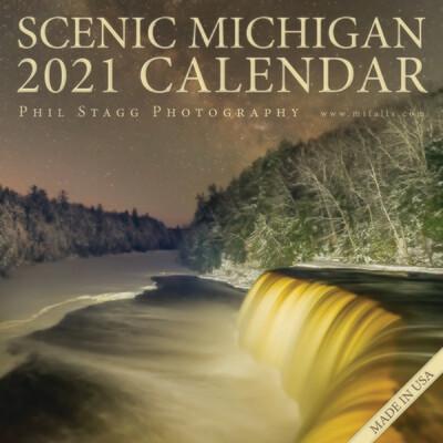 2021 Scenic Michigan Calendar
