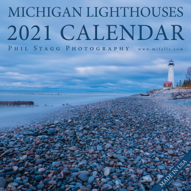 2021 Michigan Lighthouses Calendar