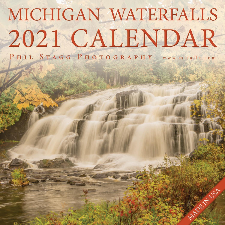 2021 Michigan Waterfalls Calendar