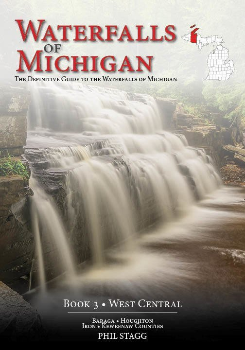 Waterfalls of Michigan (Book 3 - West Central)