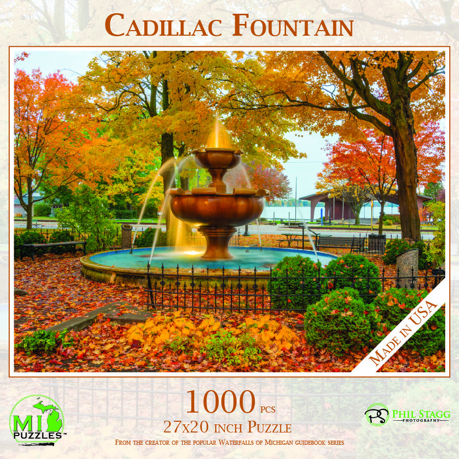 Cadillac Fountain Puzzle