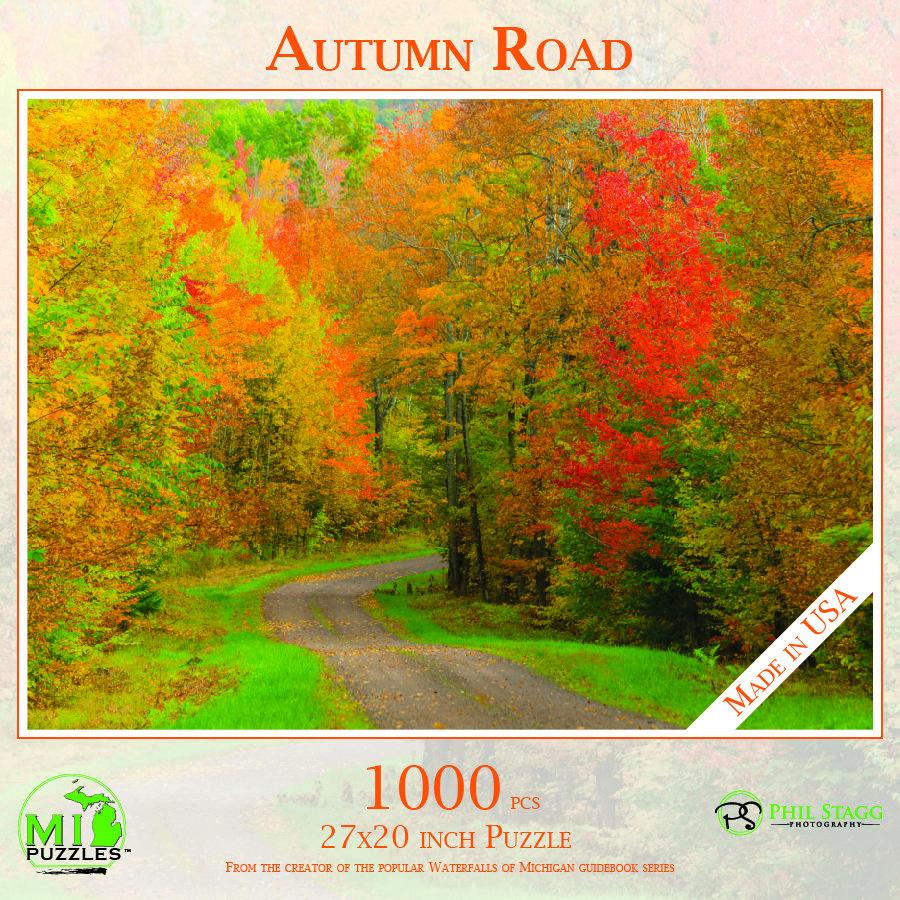 Autumn Road Puzzle