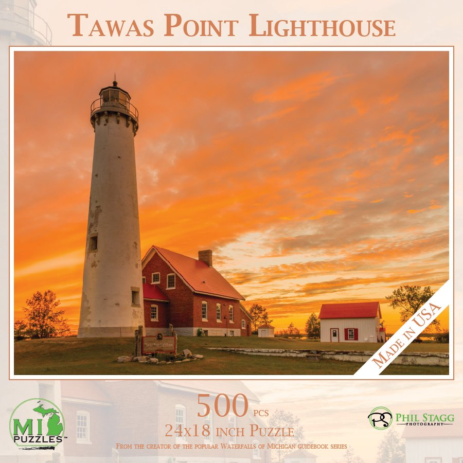 Tawas Point Light House Puzzle