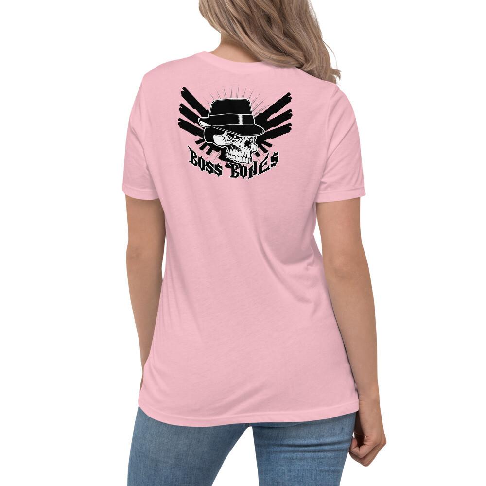 Boss Bones Guns Women's Relaxed T-Shirt