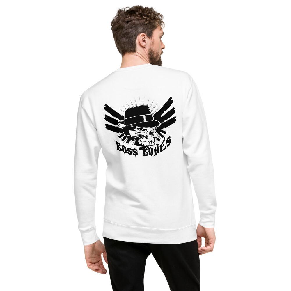 Boss Bones Guns Unisex Fleece Pullover