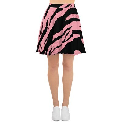 Boss Bones Pink Z Skater Skirt
