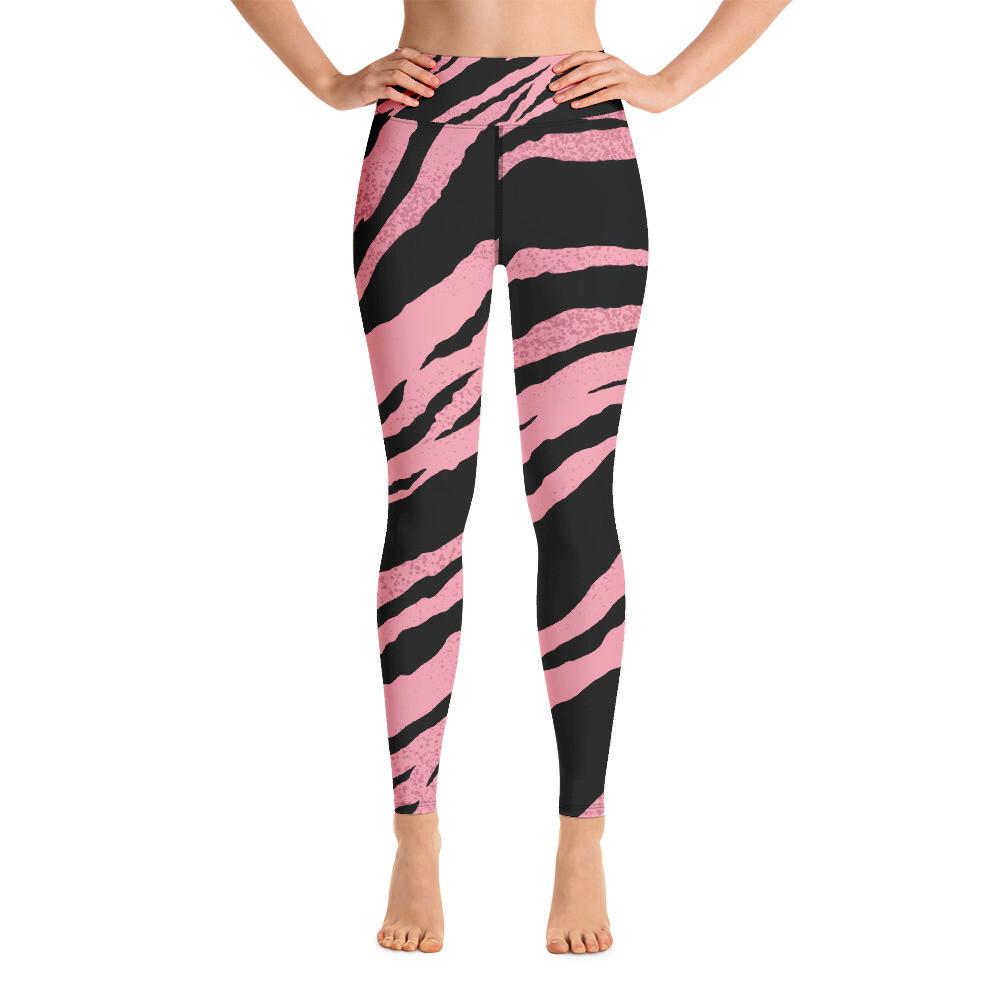 Boss Bones Pink Z Yoga Leggings