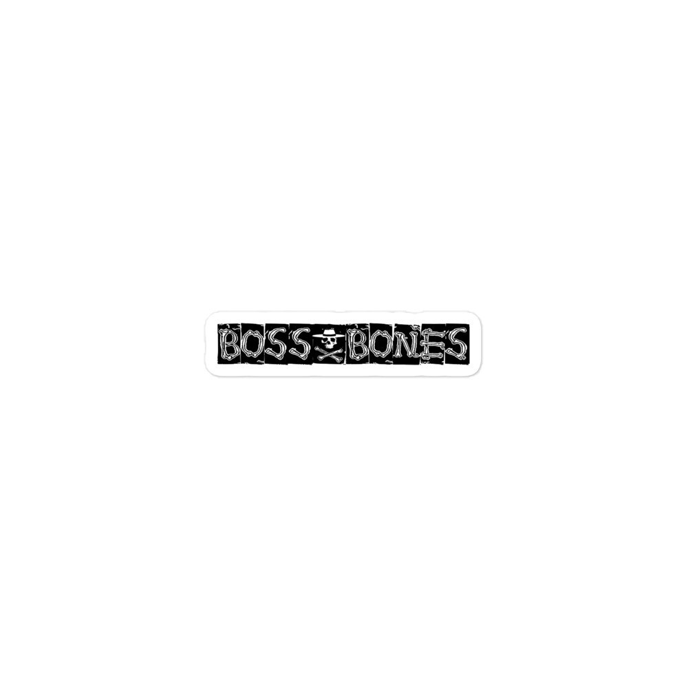Boss Bones Bandit Bubble-free stickers