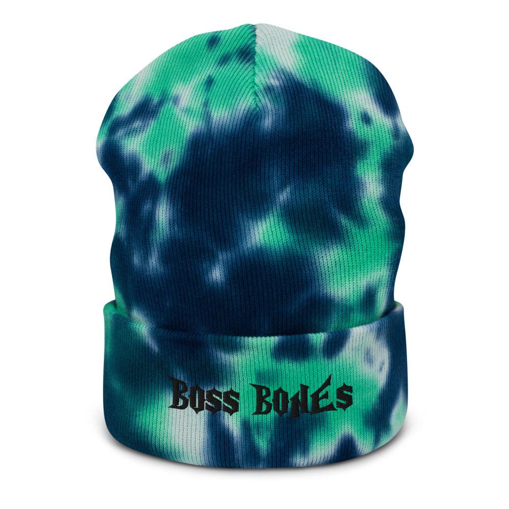 Boss Bones Tie-dye beanie