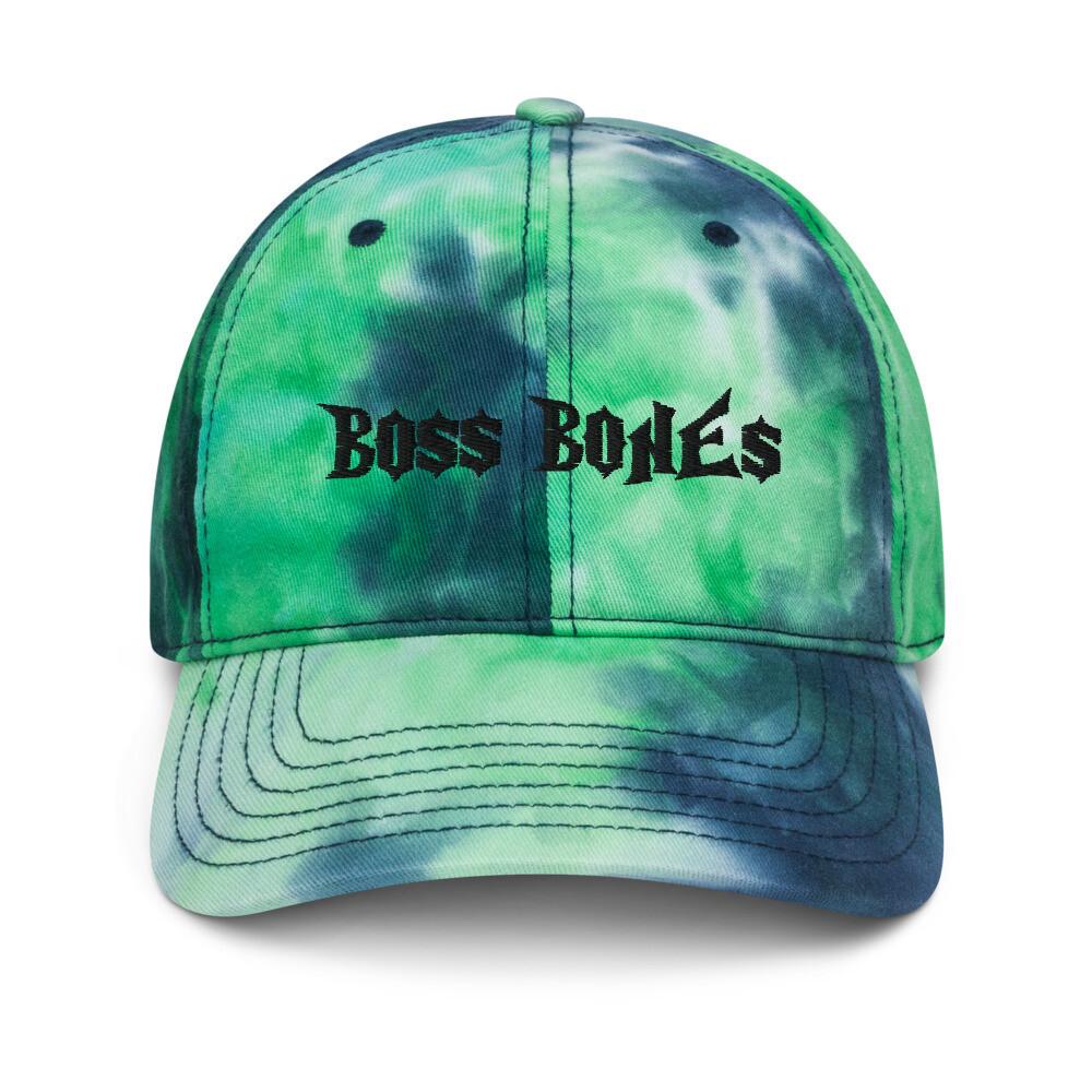 Boss Bones Tie dye hat