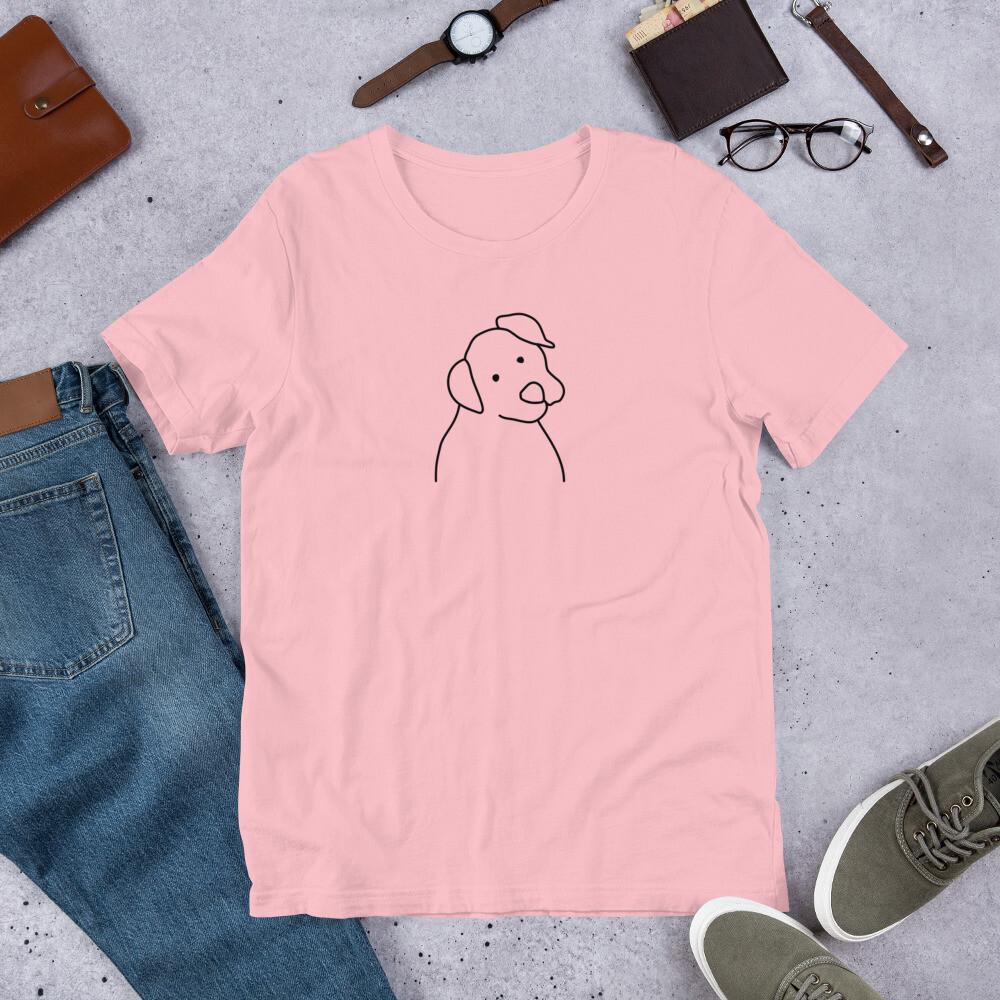 Boss Bones Dog Short-Sleeve Unisex T-Shirt