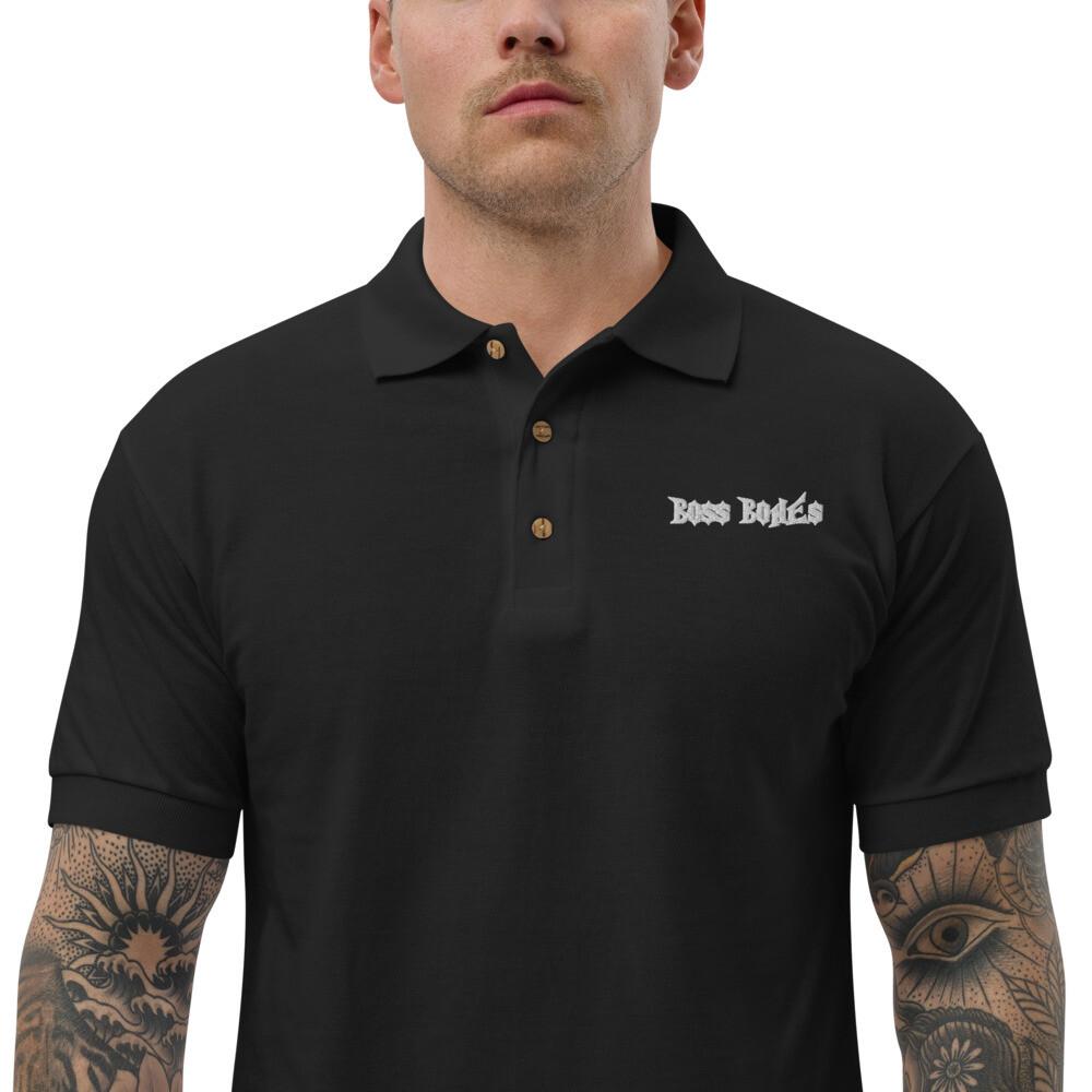 Boss Bones Embroidered Polo Shirt