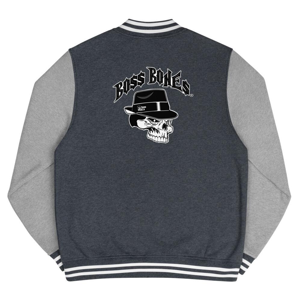 Boss Bones Men's Letterman Jacket