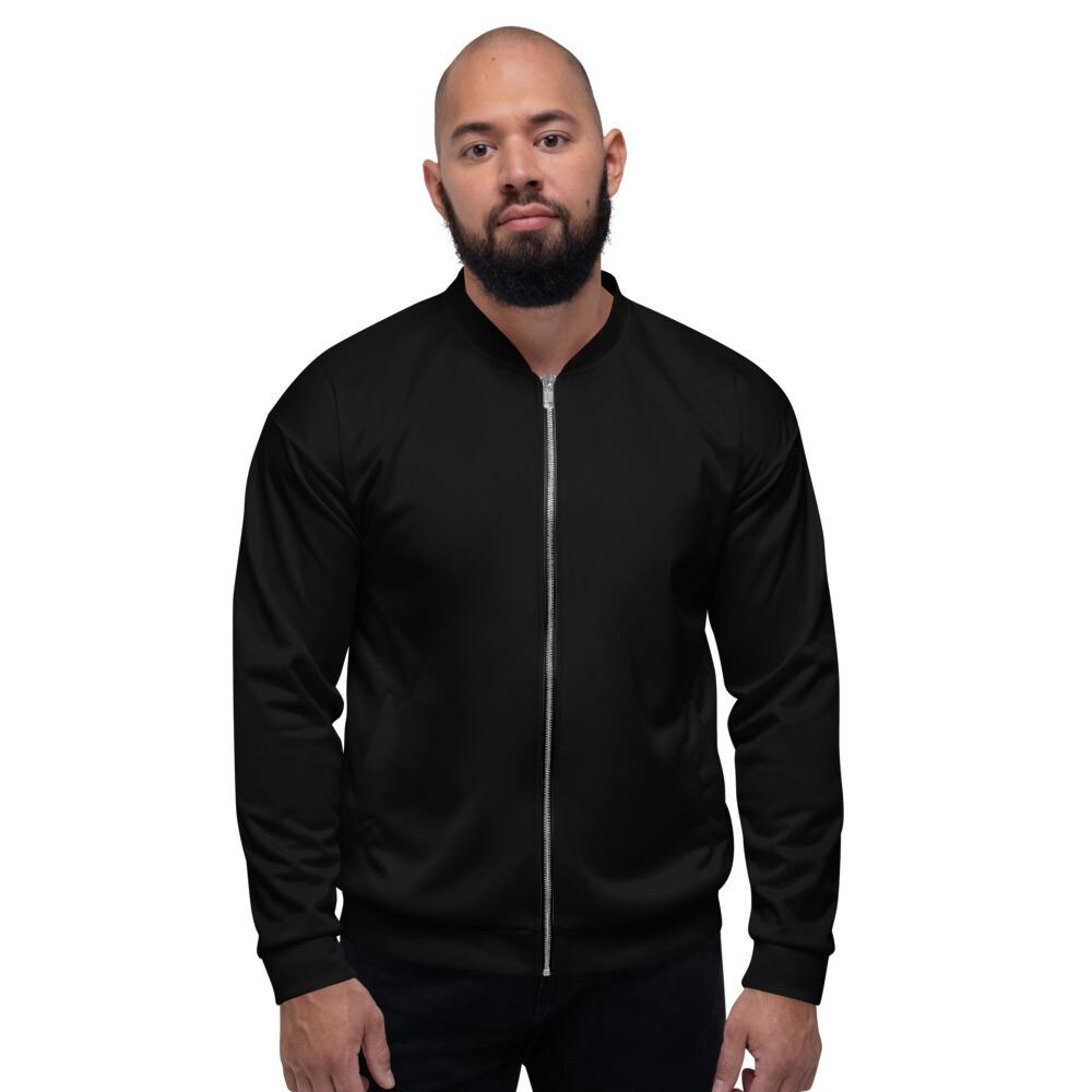 Boss Bones Black Unisex Bomber Jacket