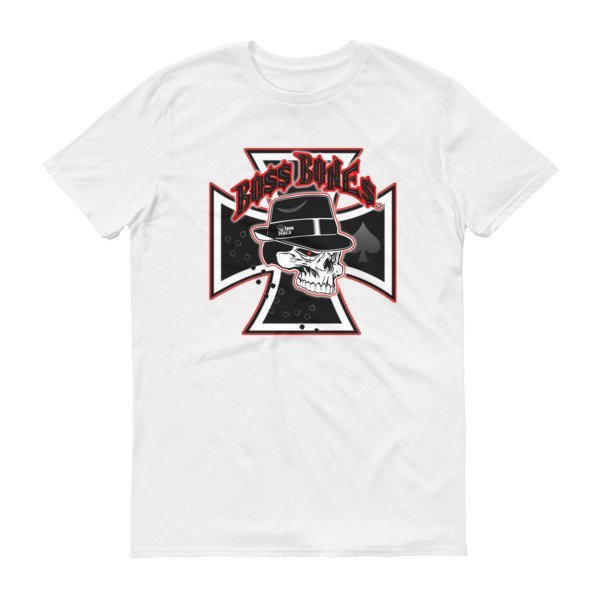 """Boss Bones Short sleeve t-shirt """"Iron Cross"""""""