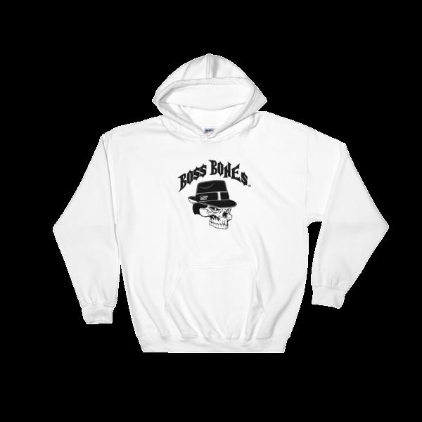 Boss Bones Logo Hooded Sweatshirt