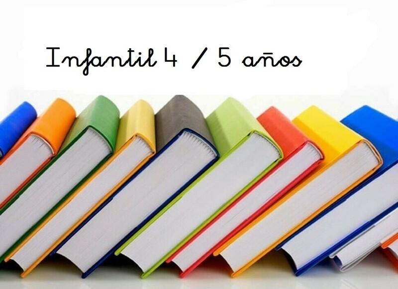 Libros 4-5 Años Curso 2020 / 2021