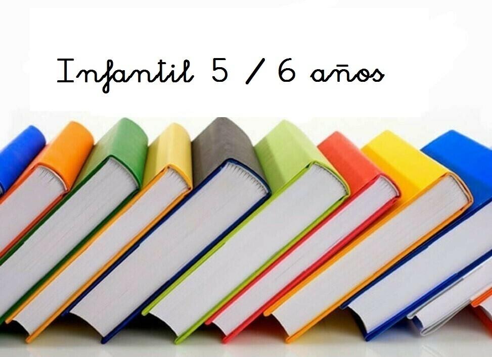 Libros 5-6 Años Curso 2020 / 2021