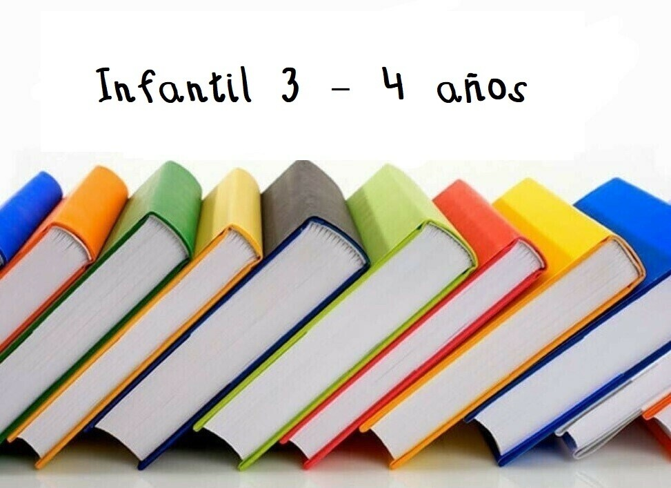 Libros 3-4 años Curso 2021 / 2022