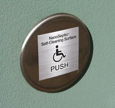 ADA Auto Door Push Button Skin (25 pack)
