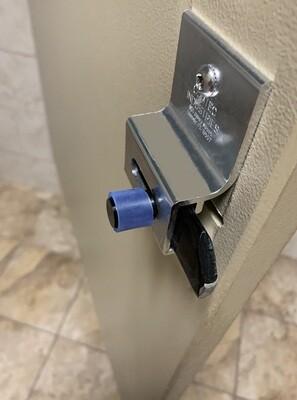 Bathroom Stall Door Handle Sleeves - 20 Pack