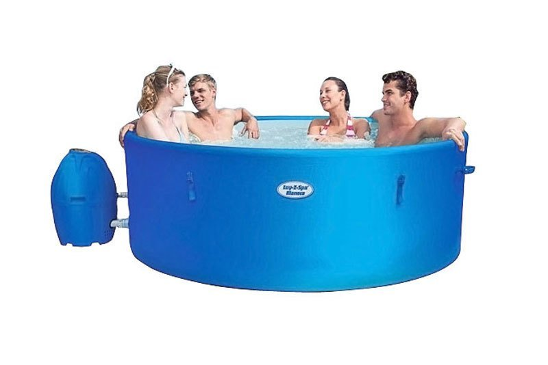 New Years Hire - 29th Dec - 5th January - Lay-Z Spa Monaco Inflatable Hot Tub (7 Day Hire) (8 people)