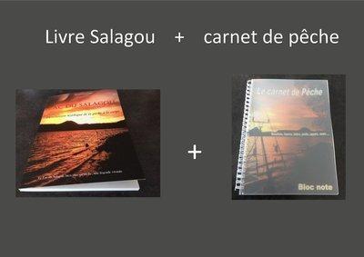 Livre Salagou + carnet de pêche